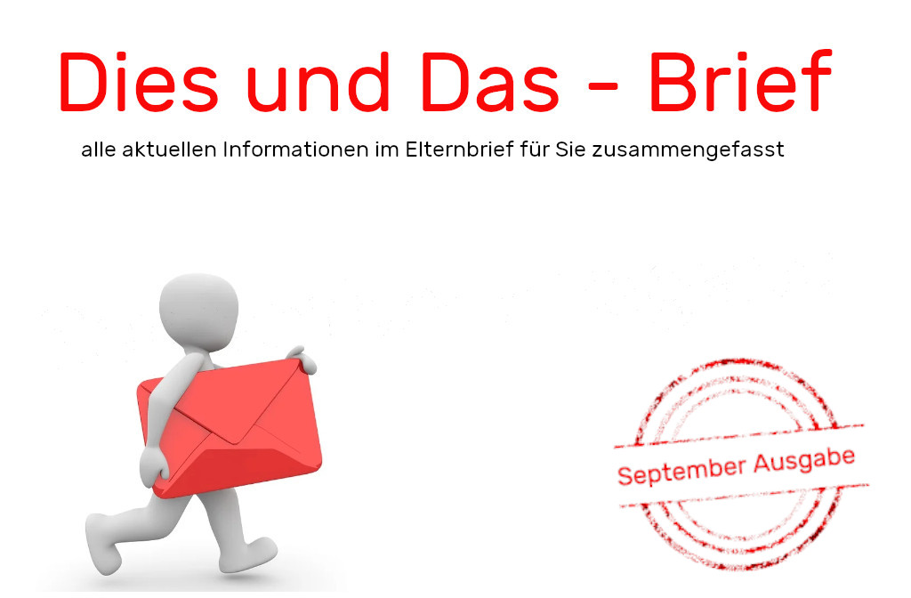 Dies und Das – Brief (September 2020)