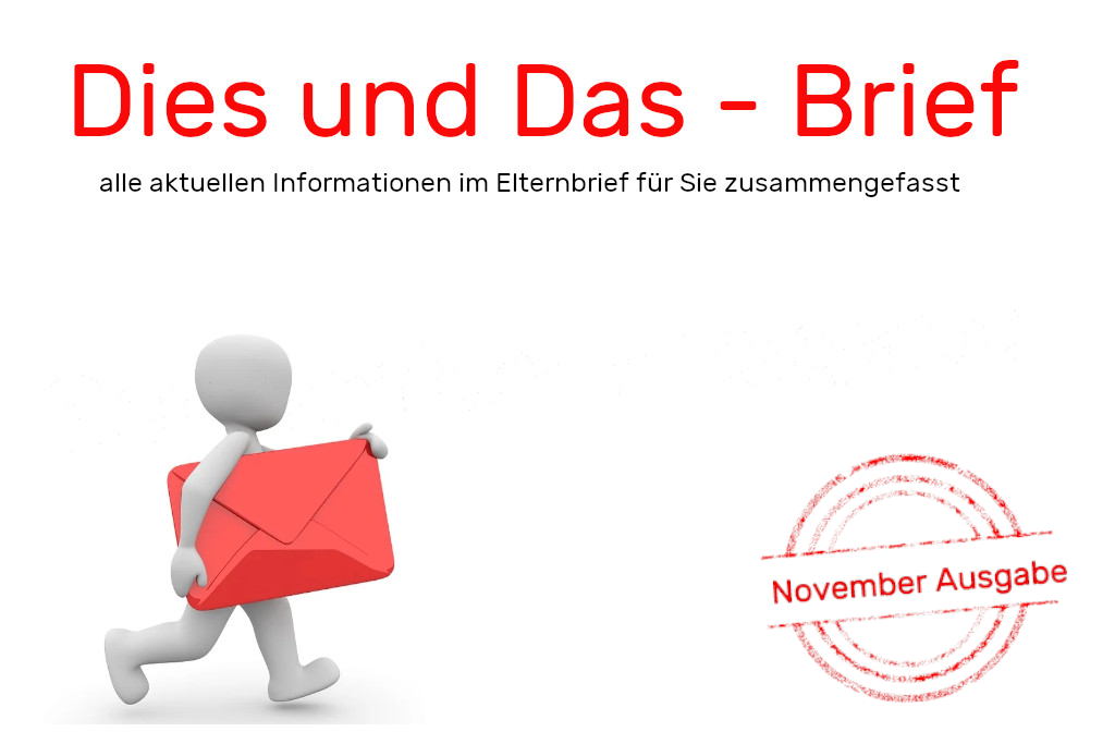 Dies und Das – Brief (November 2020)